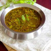 Pudina Rasam Recipe With Step By Step Pictures