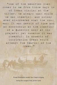 Tom Crean Quotes - Ernest Shackleton