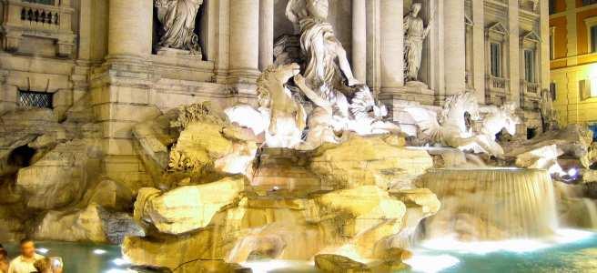 Fontana di Trevi   Fountain di Trevi