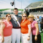 Tom and Sisters | West Point Graduation - 2005