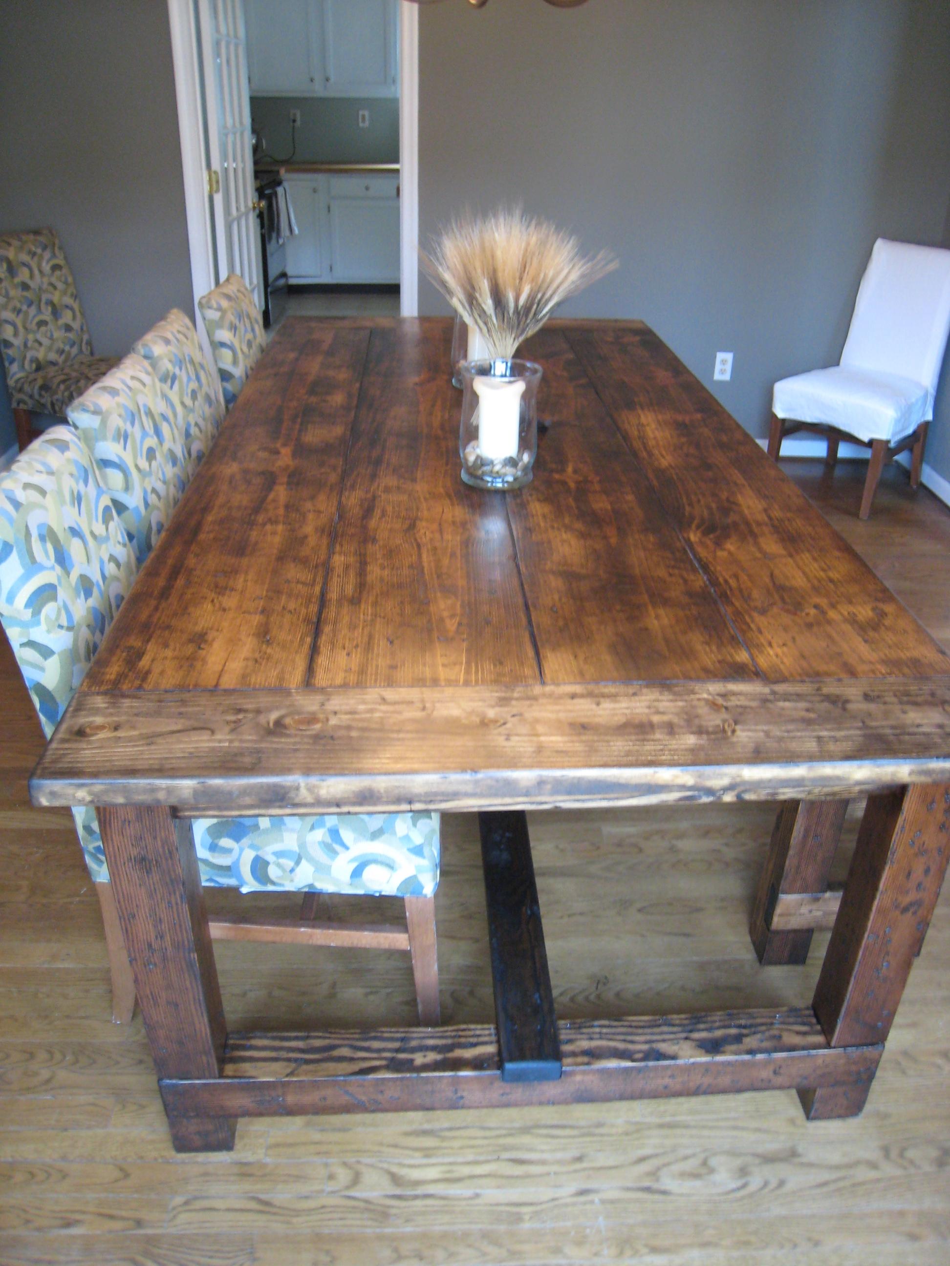 farmhouse table details farmhouse kitchen table sets Here s