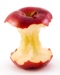 Image of an Apple Core