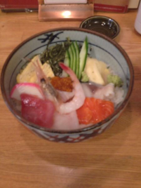 利久海鮮丼ランチ