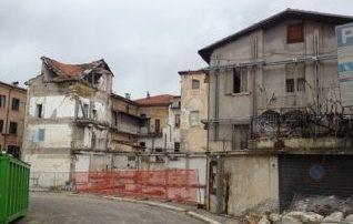 Earthquake damage in L'Aquila, 2009