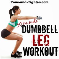 30 Minute Dumbbell Leg Workout - Best Free Weight Exercises For Your Legs