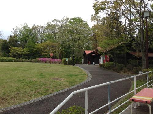 荻野運動公園野草園 入口