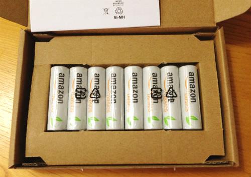 Amazonベーシック 充電式ニッケル水素電池単3