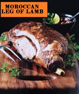 moroccan leg of lamb photo