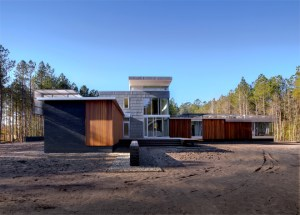 The Walters Residence is slated for LEED Silver certification. Todd Lanning, photographer