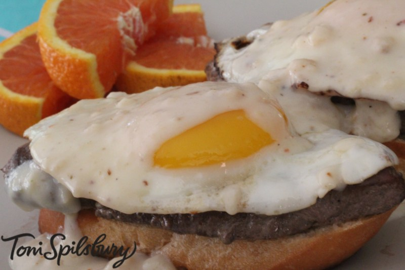 Large Of Steak And Eggs Recipe