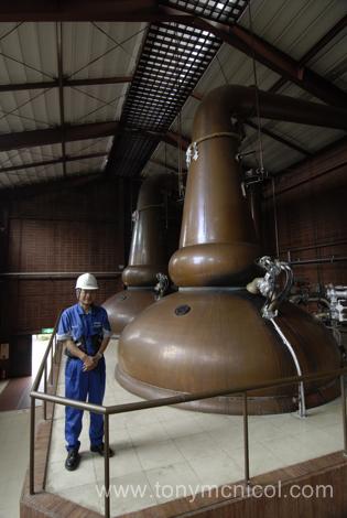 Nikka Miyagikyo distillery