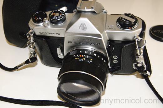 Pentax Spotmatic 55mm f1.8