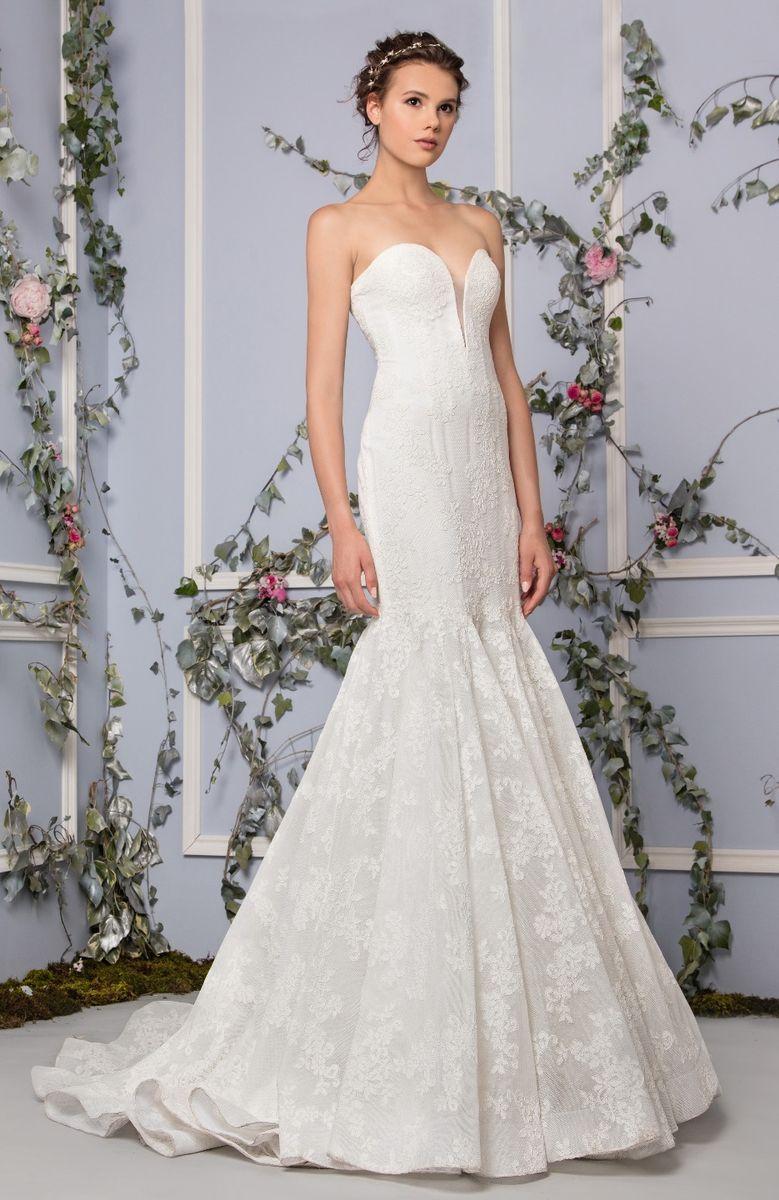 lao wedding dress plunge wedding dress Bridal Tony Ward