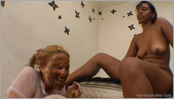 shit eating slave girl