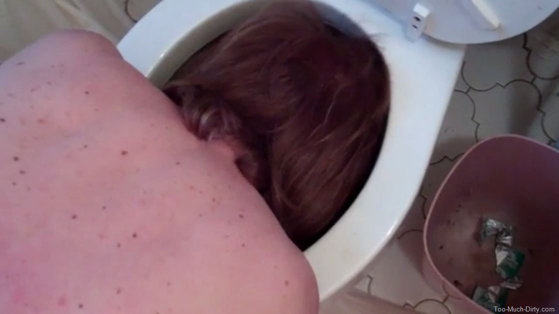 I clean my mistress asshole after she takes a shit hot nude photos