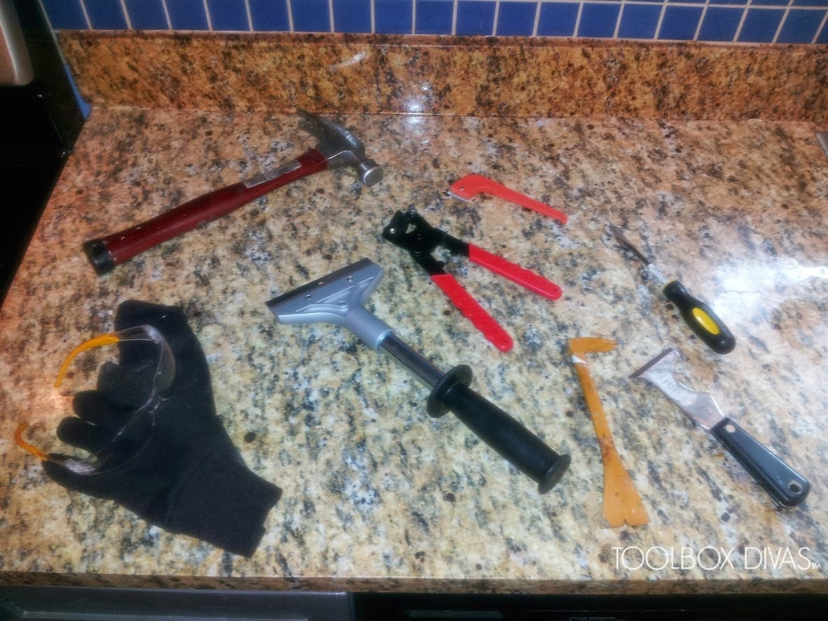 How to remove backsplash tiles - Tools To Remove Old Tile