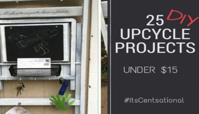 "25 ""Cent-Sational"" Upcyle Projects Under $15"