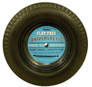 Marathon Universal Fit Flat Free Hand Truck/Utility Tire