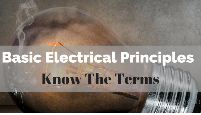 What You Need to Know About the Basic Electrical Principles