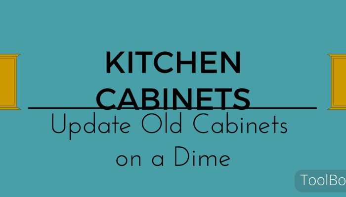 Change The Look of Your Kitchen Cabinets On a Dime