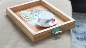 Make a Serving Tray with Toolbox Divas