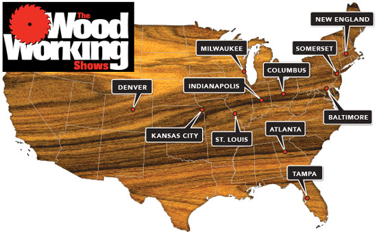 woodworking shows 2013