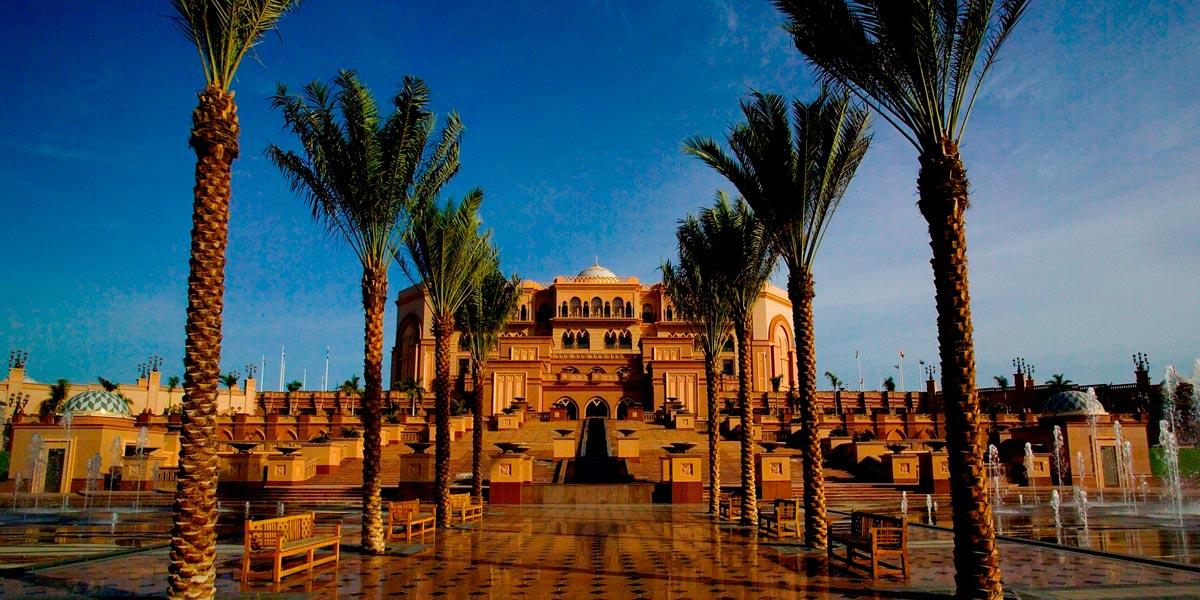 Front-Exterior, Abu Dhabi, Emirates Palace, Prestigious Venues