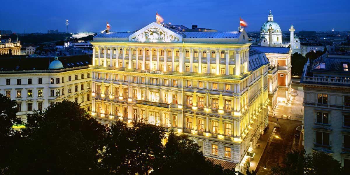 Luxury Hotel In Vienna, Hotel Imperial, Prestigious Venues