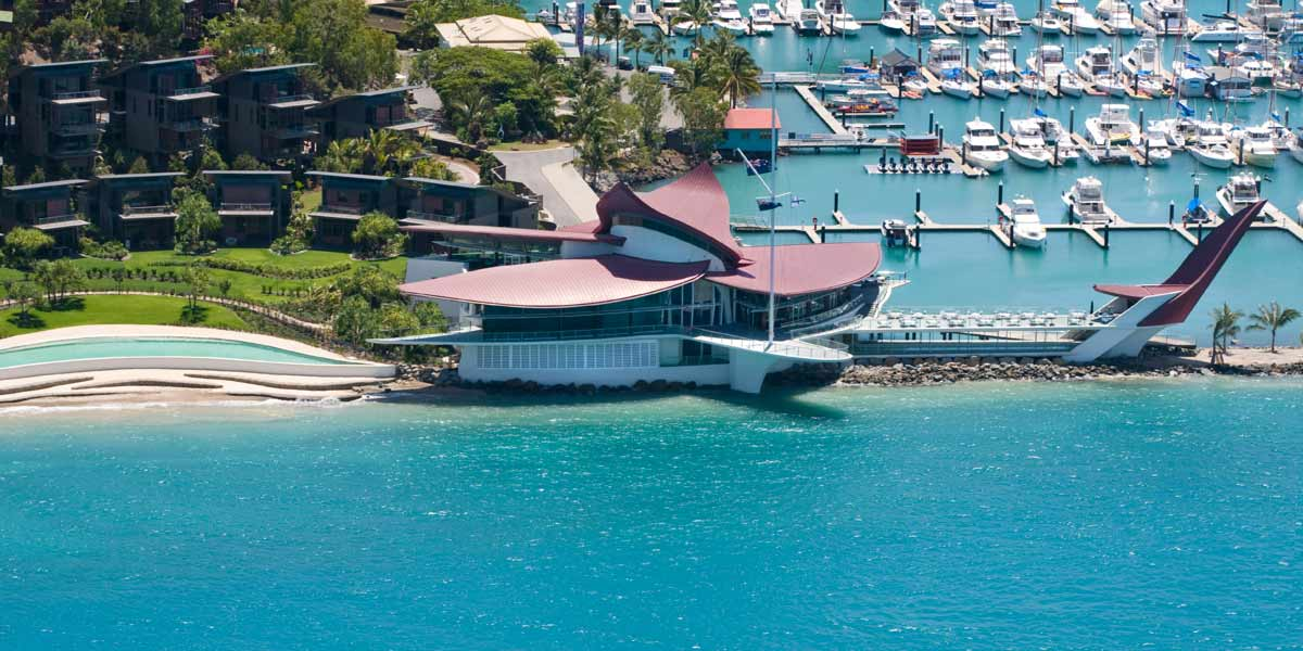 Queensland Venue For Events, Hamilton Island Yacht Club, Prestigious Venues