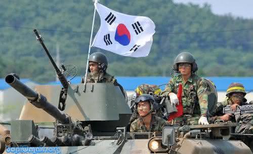 Coreia do sul Top 10 maiores exercitos do mundo