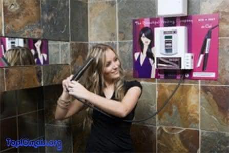 maquina de alisamento de cabelo