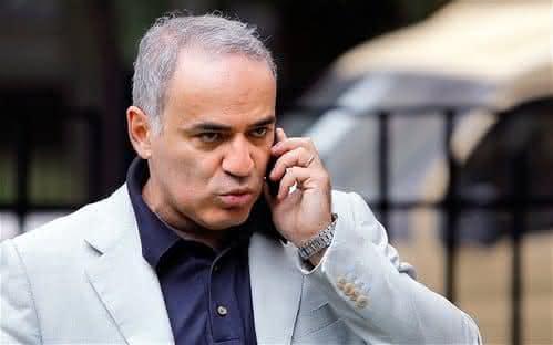 Garry Kasparov um dos mais inteligentes
