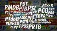 Top 10 maiores partidos politicos do Brasil