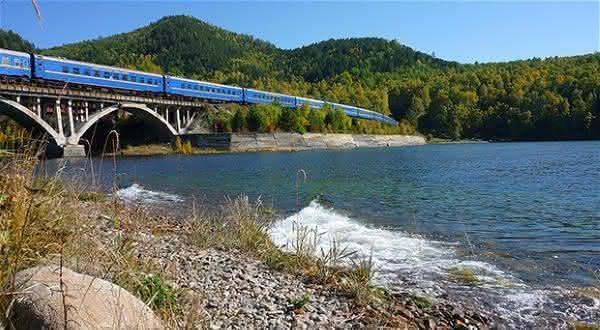 Moscow-Vladivostok entre as viagens de trens mais longas do mundo