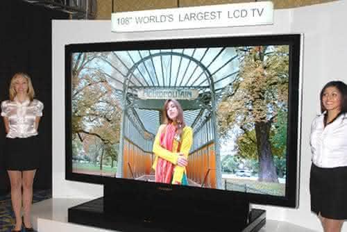 Sharp LB-1085 LCD TV entre os televisores mais caros do mundo