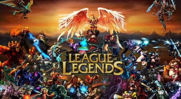 league of legends entre os games mais populares do eSport no mundo