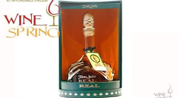 Don Julio Real Tequila entre as tequilas mais caras do mundo