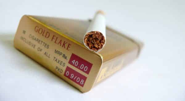 Gold Flake entre as marcas de cigarro mais caras do mundo