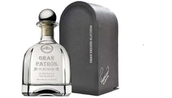 Gran Patron Platinum entre as tequilas mais caras do mundo