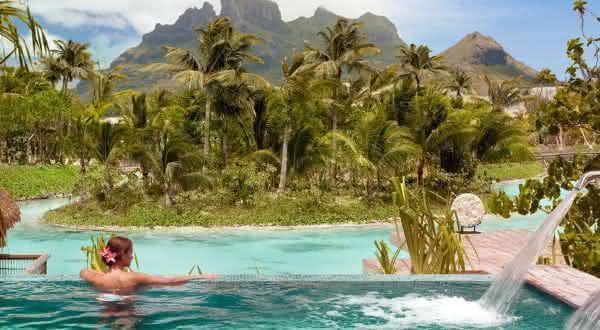 Spa at Four Seasons Resort Bora Bora entre os melhores spas do mundo