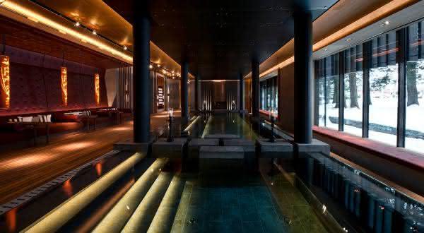 Spa at The Chedi Andermatt entre os melhores spas do mundo