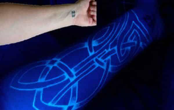 tatuagem fluorescente 2 entre as novas maneiras de fazer tatuagem