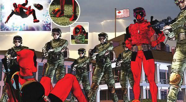 canadense entre os fatos incriveis sobre Deadpool