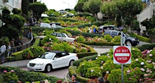 Lombard Street entre as ruas mais famosas do mundo