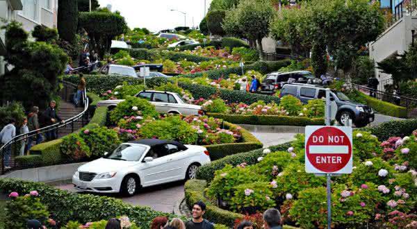 Lombard Street entre as ruas mais famosas do mundo
