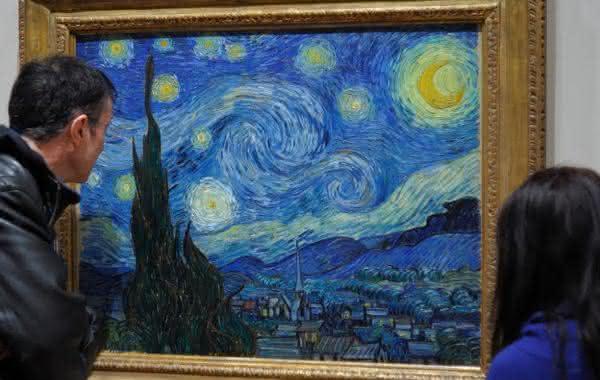 noite estrelada entre as pinturas mais famosas do mundo