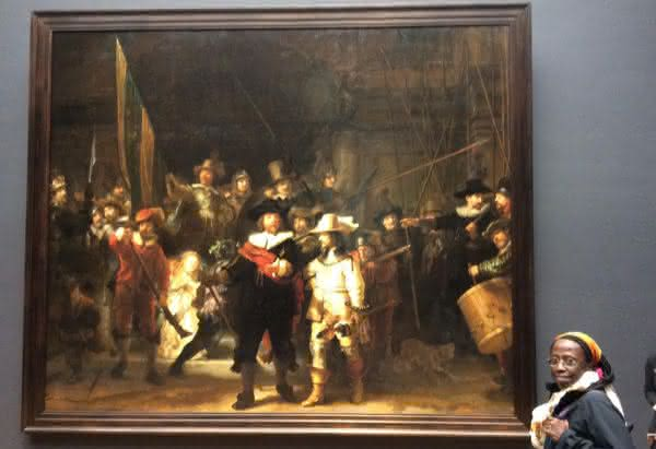 ronda noturna entre as pinturas mais famosas do mundo