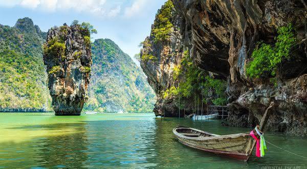 Phang Nga Bay entre as baías mais bonitas do mundo