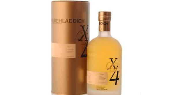 Bruichladdich X4 Quadrupled Whiskey   entre as bebidas alcoolicas mais fortes do mundo