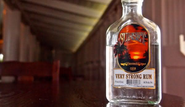 Sunset Rum   entre as bebidas alcoolicas mais fortes do mundo